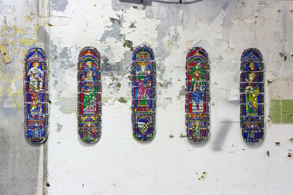 Cathedral skateboard deck 5 - stigerwoods - 2
