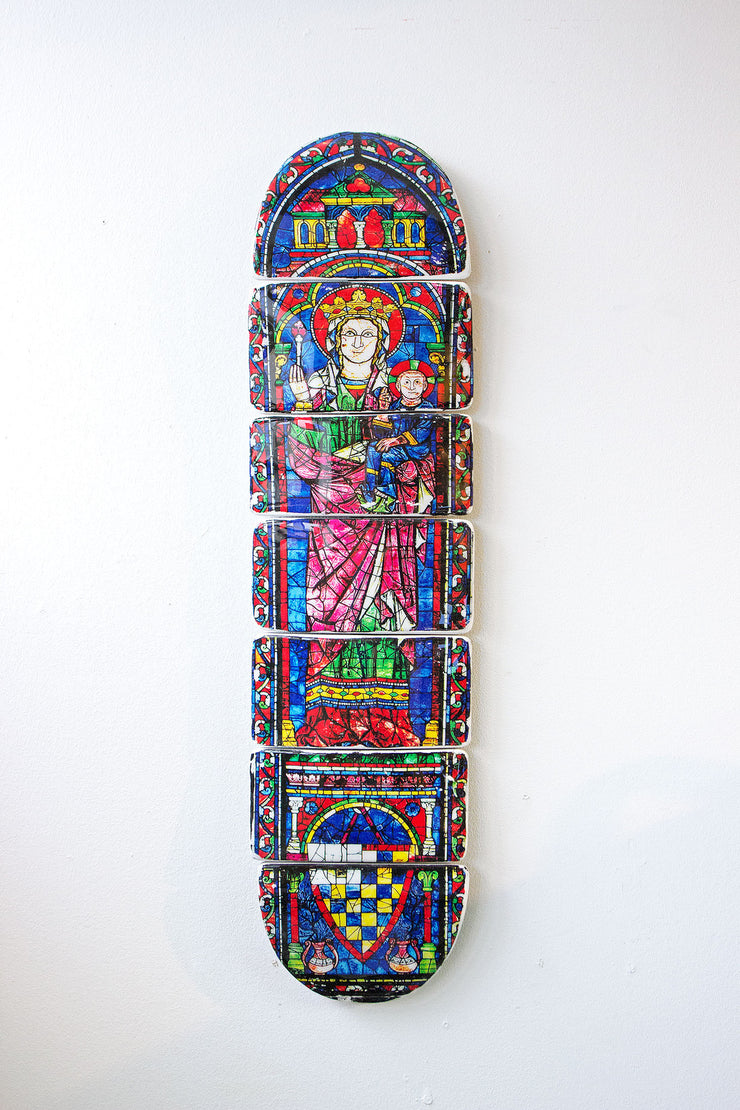 Cathedral skateboard deck 2 - stigerwoods - 1