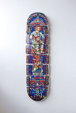 Cathedral skateboard deck 4 - stigerwoods - 1