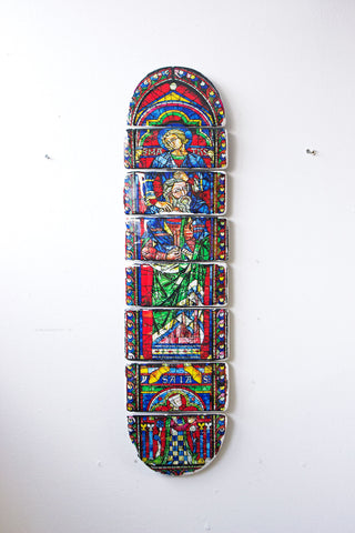 Cathedral skateboard deck 5 - stigerwoods - 1
