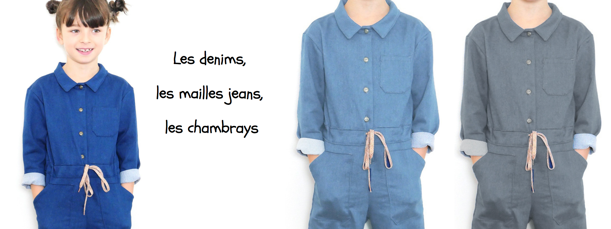 Jeans et chambrays