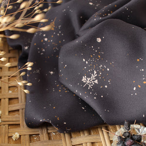Tissu twill de viscose ©Atelier Brunette - Twig Night