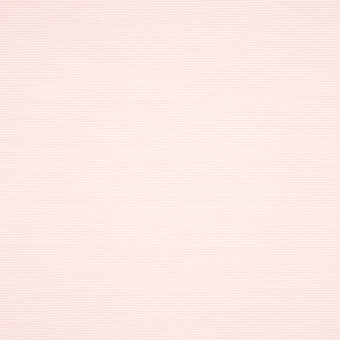 Jersey stretch- micro Rayure 1mm- Rose/Blanc