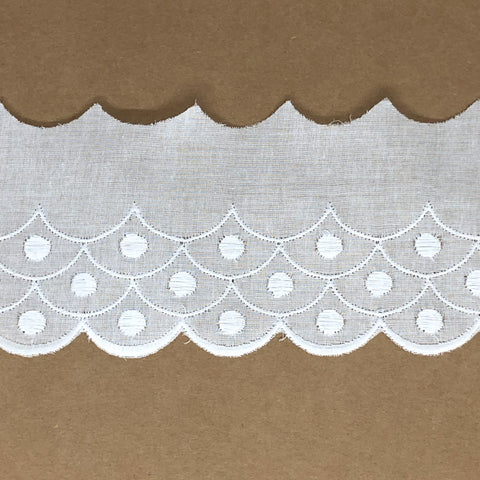 Galon de broderie anglaise Anne