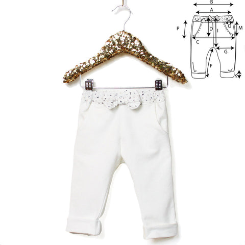 Patron de couture Pantalon de Jogging NORWAY PDF 6-24M