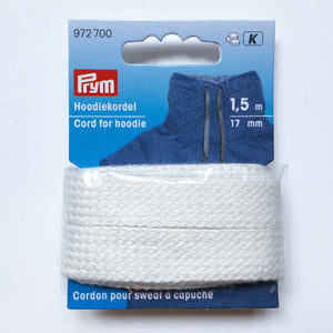 Cordon Sweat Capuche -  Prym - Blanc