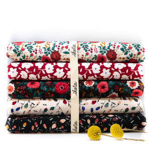 Coupon Tissu viscose création © ikatee - Fanfan - Cherry