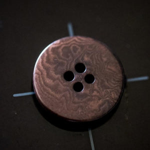 Boutons plats corozo ©Merchant & Mills - Brown - 15 ou 20 mm