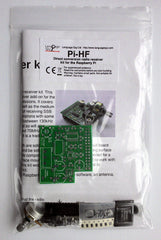 Pi-HF direct conversion radio receiver kit for the Raspberry Pi