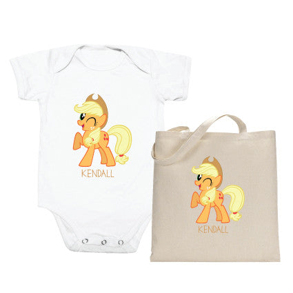 My Little Pony (Totebag & Romper Set)