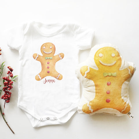 Gingerbread Man (Top & Plush Toy Set)