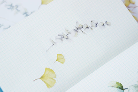 Botanical Leaves Stickers