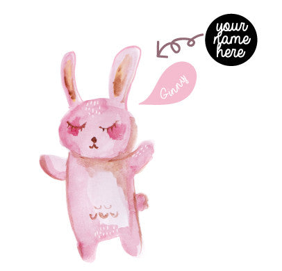 Dream Pink Bunny