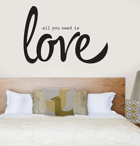 Vinilo decorativo - All you need is love - Viniloestil