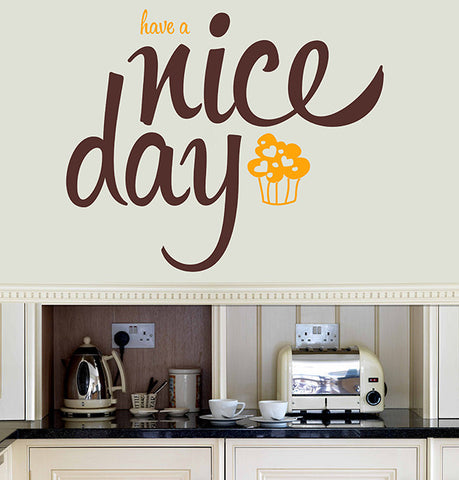 Have a nice day - Vinilos textuales