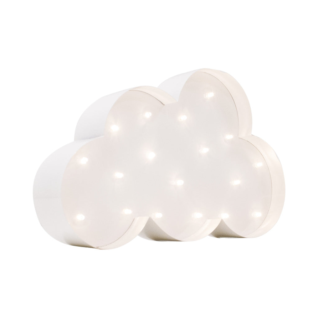 Nube decorativa led - Decoración infantil Led - Viniloestil