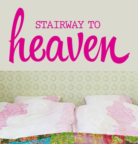 Vinilo decorativo - Stairway to heaven - Viniloestil