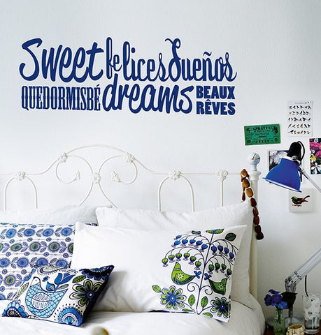 Vinilo decorativo - Sweet dreams - Viniloestil
