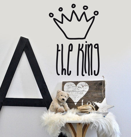 Vinilo decorativo - Mini King - Viniloestil