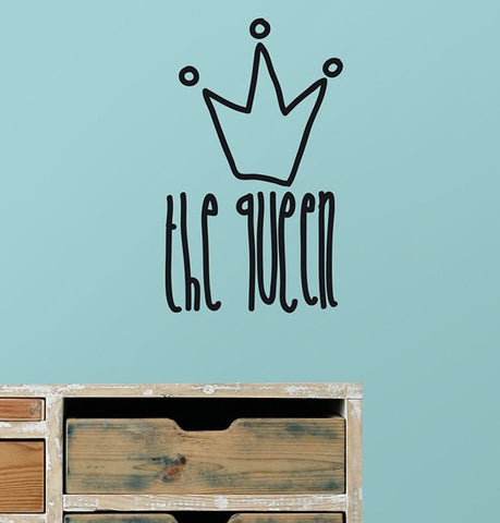 Vinilo decorativo - Mini Queen - Viniloestil