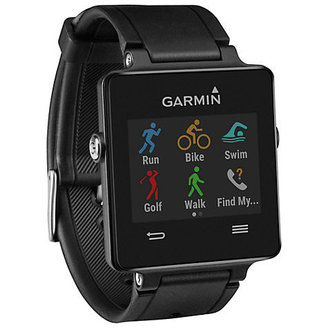 Garmin Vivoactive GPS Smartwatch and Heart Rate Monitor, Black