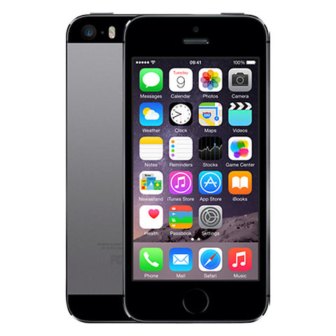 "Apple iPhone 5s, iOS, 4"", 4G LTE, SIM Free, 32GB, Space Grey"