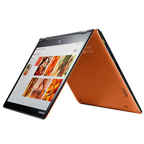 "Lenovo Yoga 3 14"" Convertible Laptop, Intel Core i5, 8GB RAM, 256GB SSD, 14"" Touch Screen, Orange"