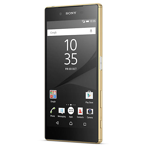 "Sony Xperia Z5 Smartphone, Android, 5.2"", 4G LTE, SIM Free, 32GB, Gold"
