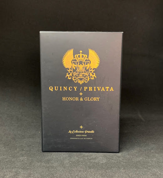 "QUINCY / PRIVATA ""HONOR & GLORY""  EAU DE PARFUM EDP 70ml FOR MEN NATURAL SPRAY VAPORISATEUR"