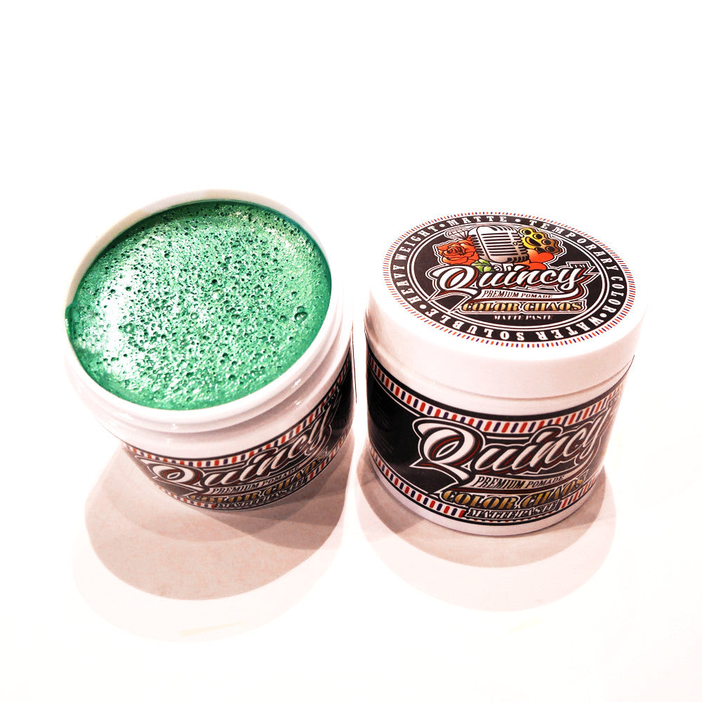 QUINCY COLOR CHAOS MATTE PASTE - GREEN 113G
