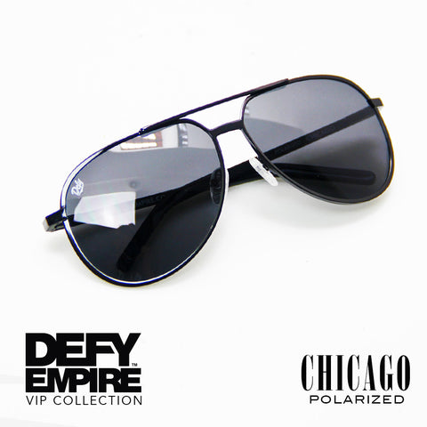 CHICAGO - GLOSS BLACK / GREY POLARIZED