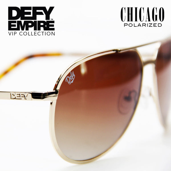 CHICAGO - GOLD / BRONZE GRADIENT  POLARIZED