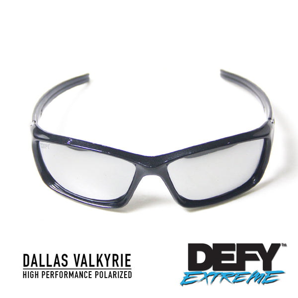 DALLAS VALKYRIE METALLIC BLACK/SILVER POLARIZED