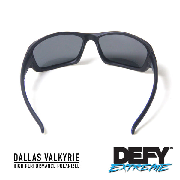 DALLAS VALKYRIE MATTE BLACK/GREY POLARIZED