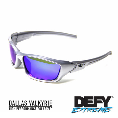 DALLAS VALKYRIE SILVER/BLUE POLARIZED