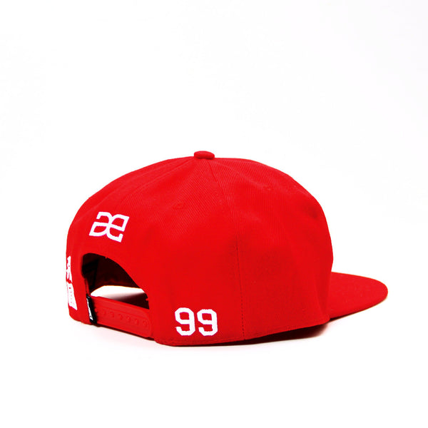 BASIC SNAPBACK IN RED