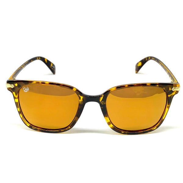 BEL AIR - GLOSS TORTOISE FRAME/24K GOLD MIRROR POLARIZED LENSES LIMITED EDITION SUNGLASS
