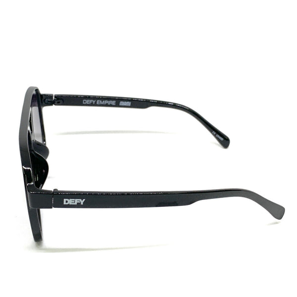 MIAMI - GLOSS BLACK FRAME/GREY GRADIENT LENSES SUNGLASS