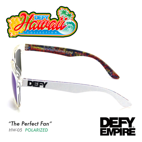 HAWAII - THE PERFECT FAN CLEAR / GREEN POLARIZED