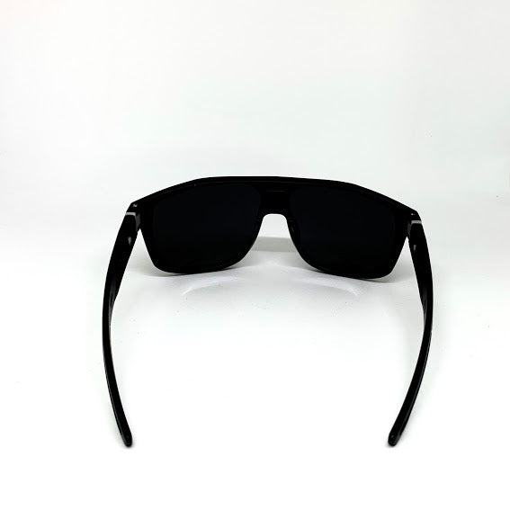 DEFY / PRIVATA MIRAGE LIMITED EDITION - MATTE BLACK FRAME/DARK GREY POLARIZED
