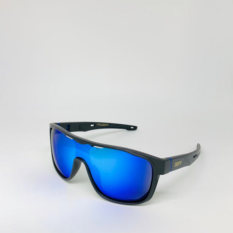 DEFY / PRIVATA MIRAGE LIMITED EDITION - MATTE BLACK FRAME/FROZEN BLUE MIRROR POLARIZED