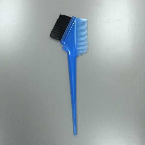 HIGH QUALITY HEAVY WEIGHT COLORING BRUSH AND COMB ALL IN ONE BLUE