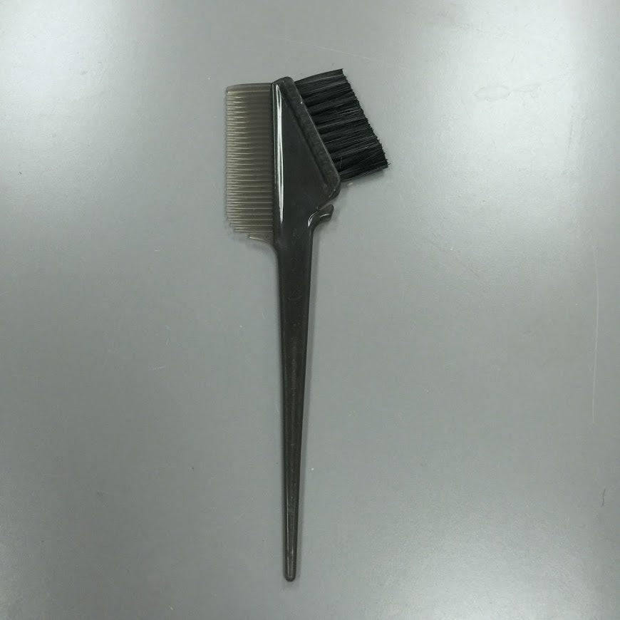 HIGH QUALITY HEAVY WEIGHT COLORING BRUSH AND COMB ALL IN ONE GREY