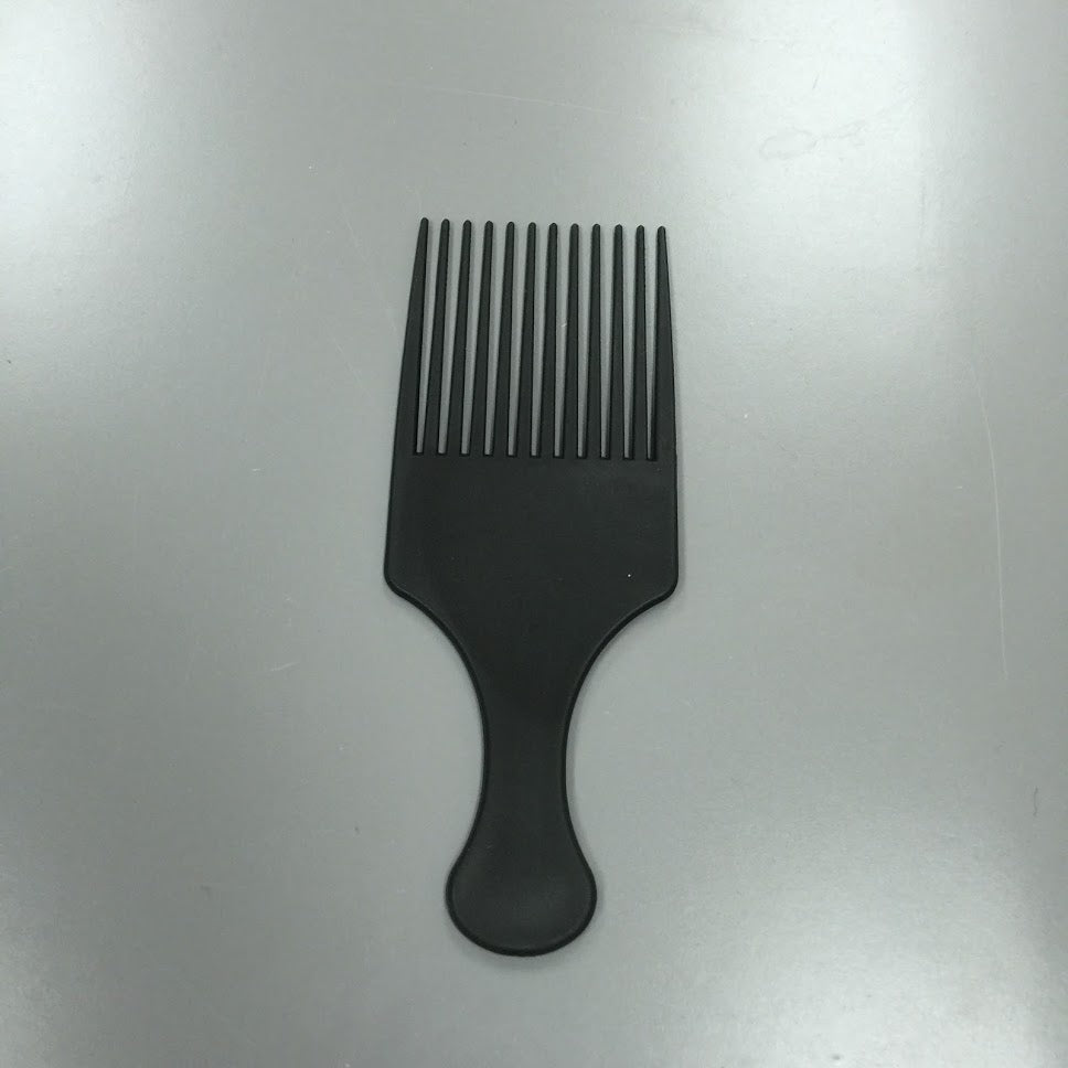 HIGH QUALITY CARBON ANTI-STATIC AFRO PICK COMB