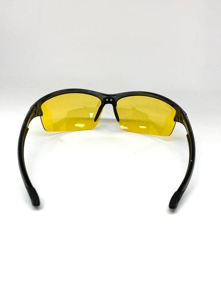 SEATTLE SENTINEL TRANSPARENT BLACK BLUE LIGHT FILTER GLASSES CLEAR YELLOW LENSES