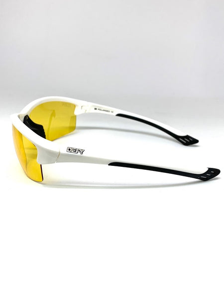 SEATTLE SENTINEL GLOSS WHITE  BLUE LIGHT FILTER GLASSES CLEAR YELLOW