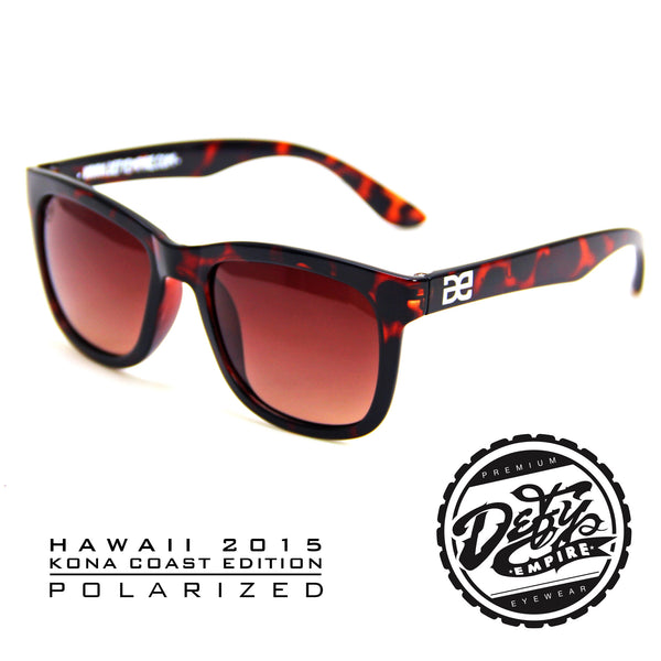 "HAWAII - ""KONA COAST"" DARK TORTOISE SHELL/BRONZE POLARIZED"