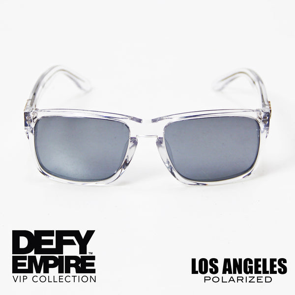 LOS ANGELES - CLEAR / SILVER POLARIZED