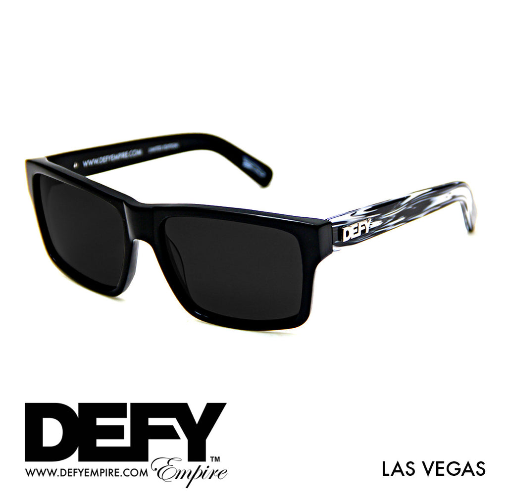 |LIMITED EDITION| LAS VEGAS ZEBRA/ GREY POLARIZED SUNGLASS
