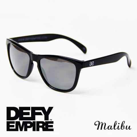 MALIBU - GLOSS BLACK SILVER MIRROR